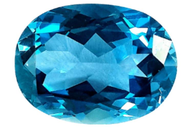 Sagittarius Birthstone: Blue Topaz