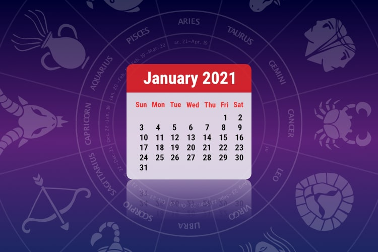 2021 Monthly Horoscope Overview: January Predictions for all Zodiac signs