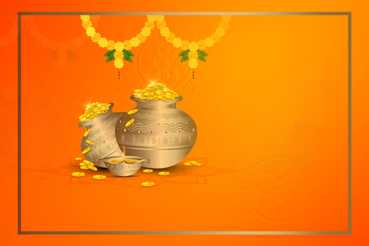 Get Blessed With Riches Along With Good Health On Dhanteras.