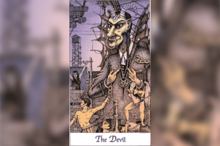 Capricorn Tarot Card: The Devil