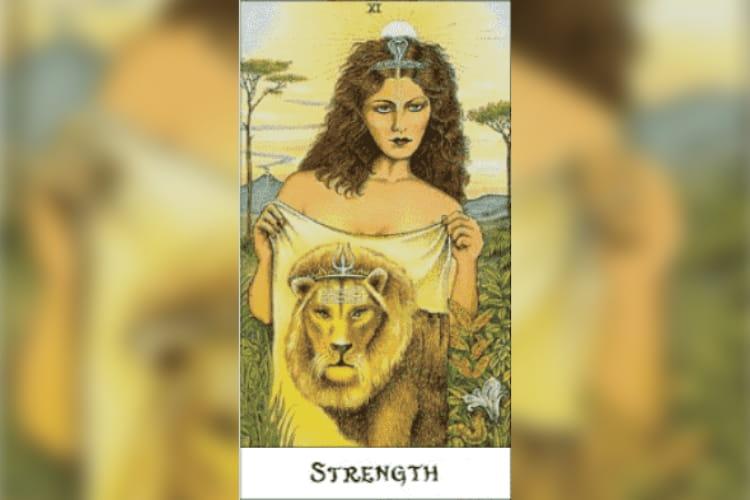Leo Tarot Card: Strength
