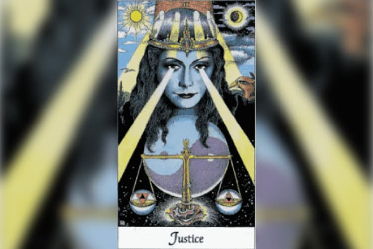 Libra Tarot Card: Justice