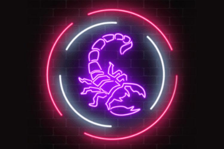 Scorpio Symbol :The Scorpion
