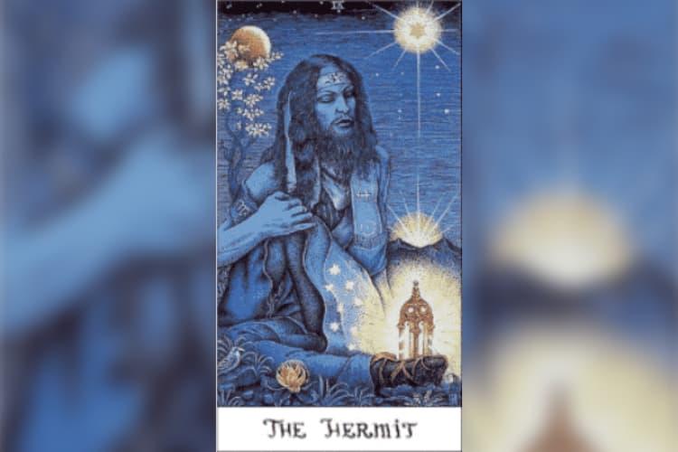 Virgo Tarot Card: The Hermit
